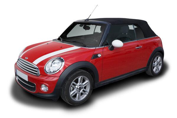 röd Mini Cooper
